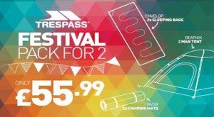 Trespass Affinity Staffordshire Offers