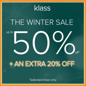 Klass Winter Sale Affinity Outlet Staffordshire