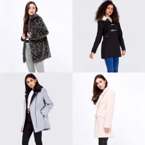 Select Coats from £19.99 at Affinity Outlet Staffordshire