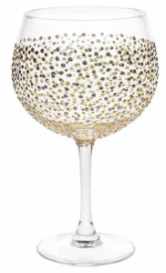 Sunny By Sue Hand Decorated Gin Glass