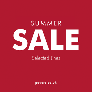 Pavers Summer Sale Affinity Outlet Staffordshire