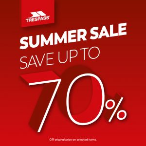 Trespass Summer Sale