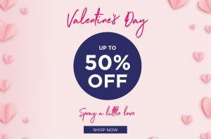 Up to 50% off Valentines