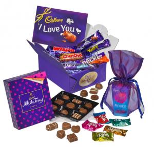 cadburys valentines box