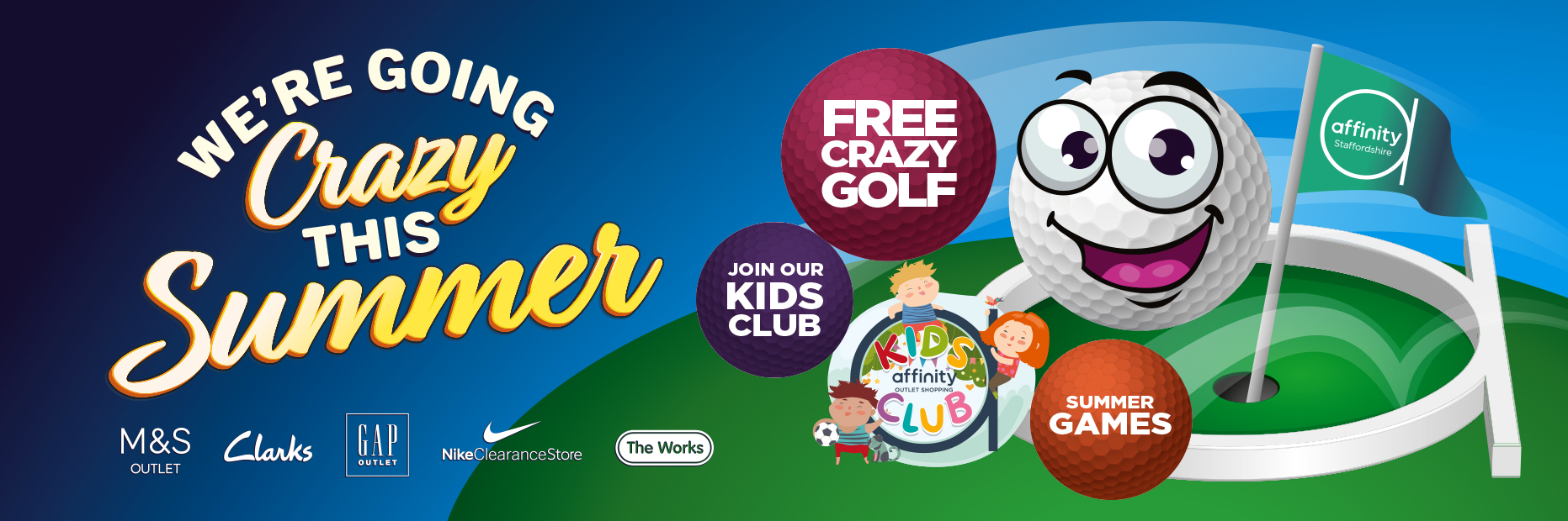 Crazy golf free affinity outlet staffordshire