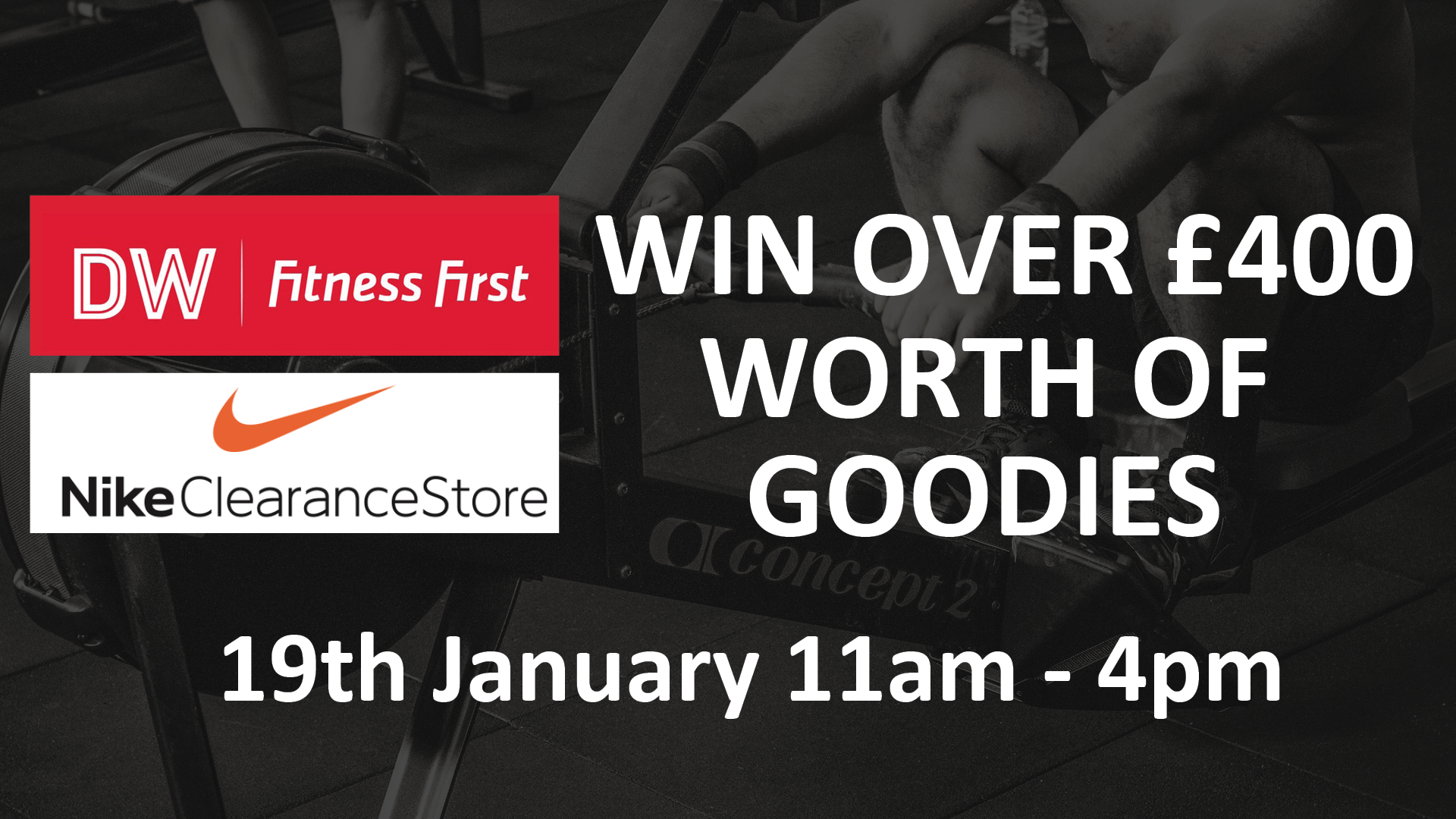 Win over 400 worth of goodies at Nike Clearance Affinity Staffordshire