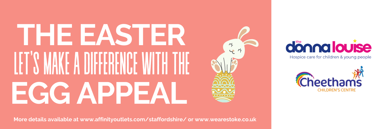 Easter Egg Appeal Affinity Staffordshire We Are Stoke