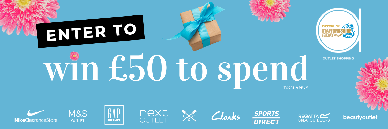 Win £50 to spend this Staffordshire Day at Affinity Staffordshire