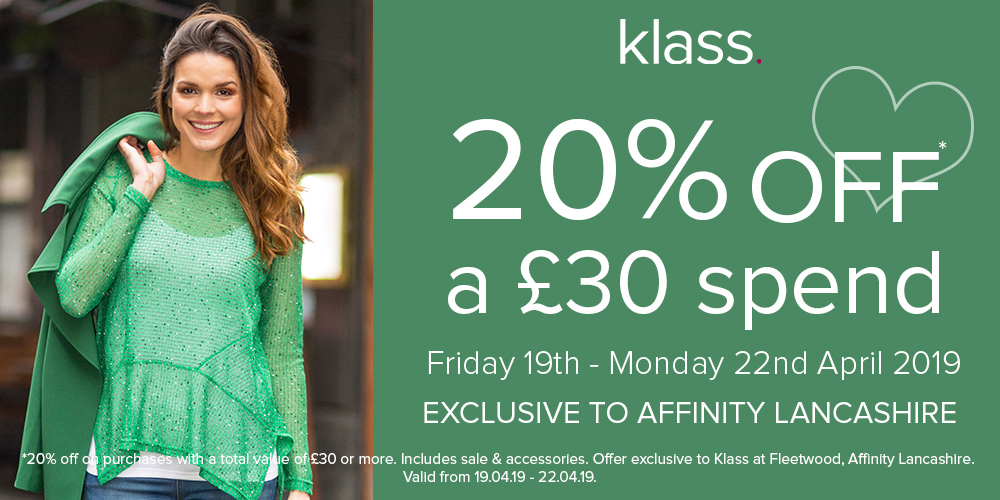 Klass Affinity Lancashire Easter Weekend