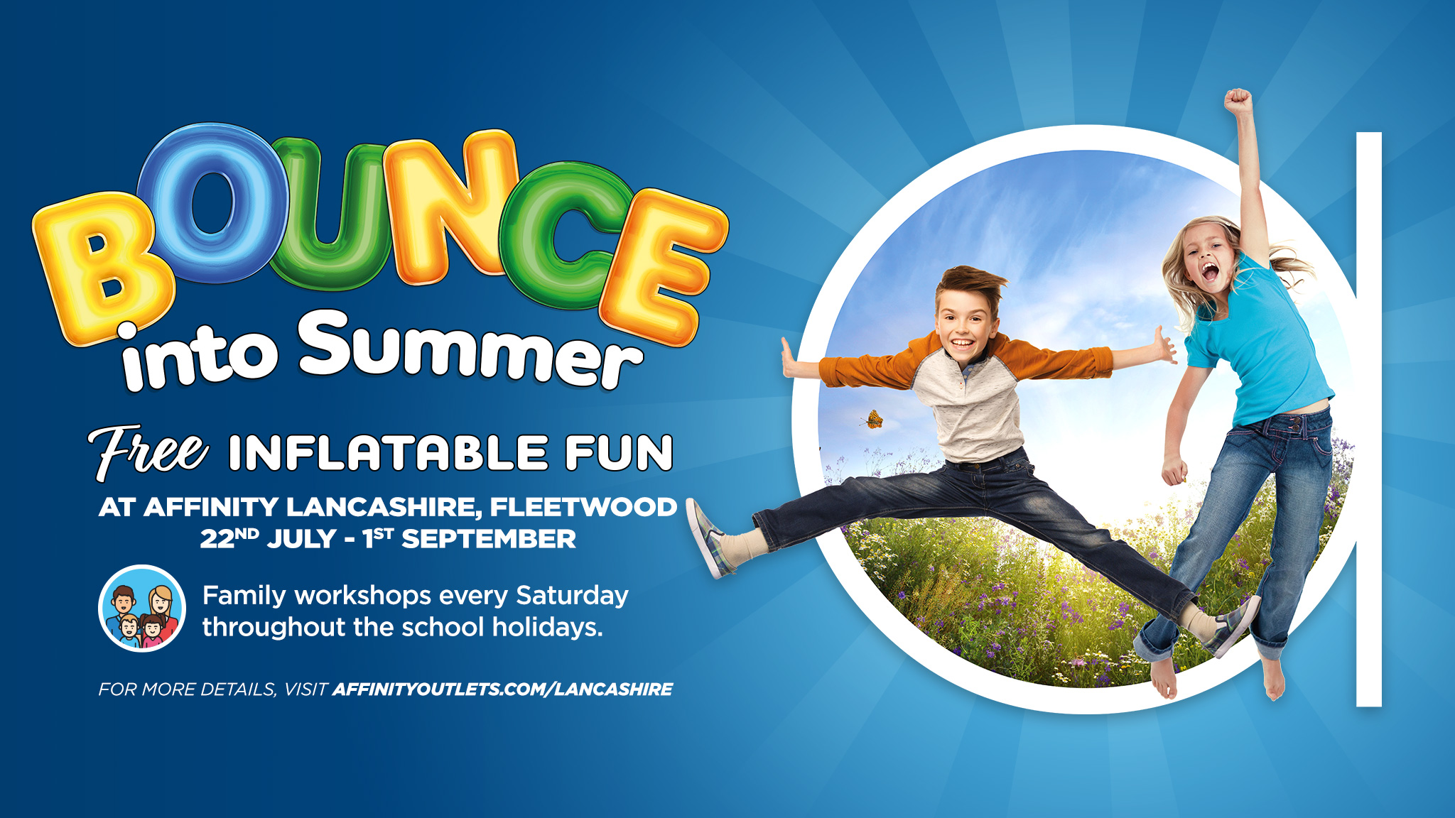 Affinity Lancashire Bounce into Summer Fleetwood